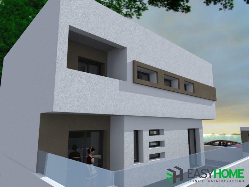 Διώροφη οικία 165m² με υπόγειο 58m²