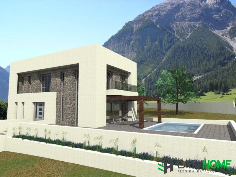 Διώροφη οικία 285m²