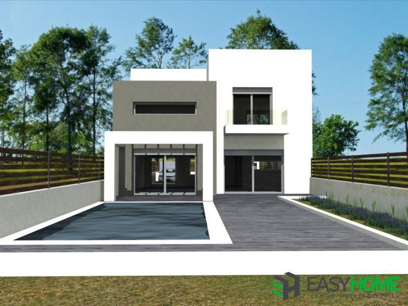 διώροφη οικία 142m²